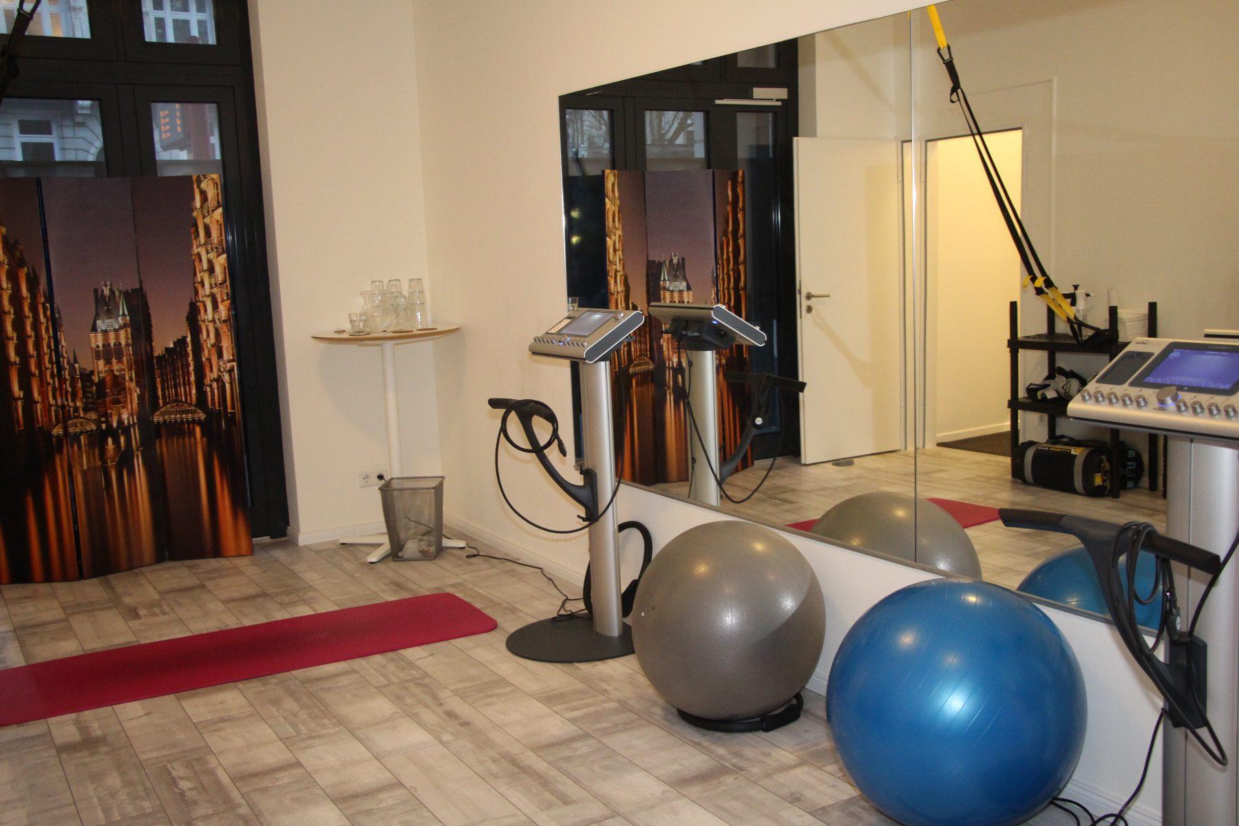 """Das Fitnessstudio im """"Push"""". Foto: Sophia Kleiner"""