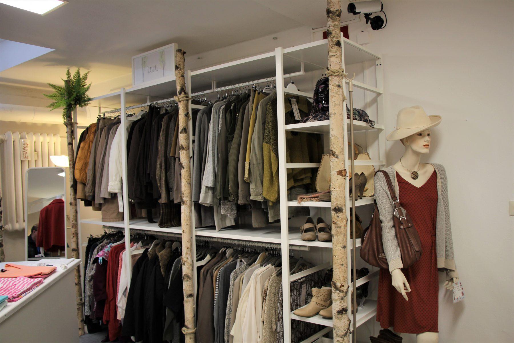 Boutique statt Sozialkaufhaus. Foto: Sophia Kleiner