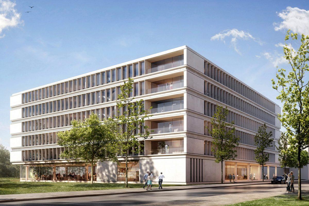 Das neue NDR Medienhaus. Foto: NDR/gmp