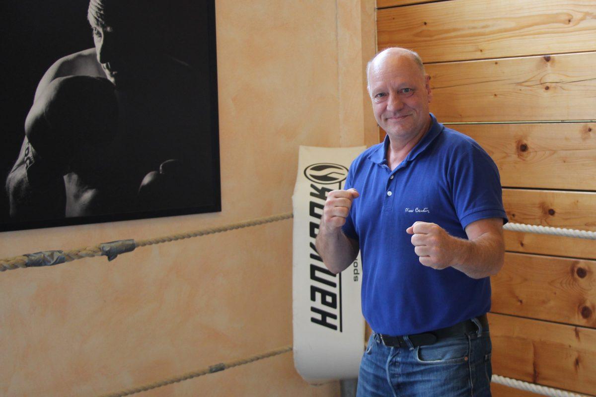 Olaf Jessen ist Gründer und Boxchoach der Boxschool e.V.