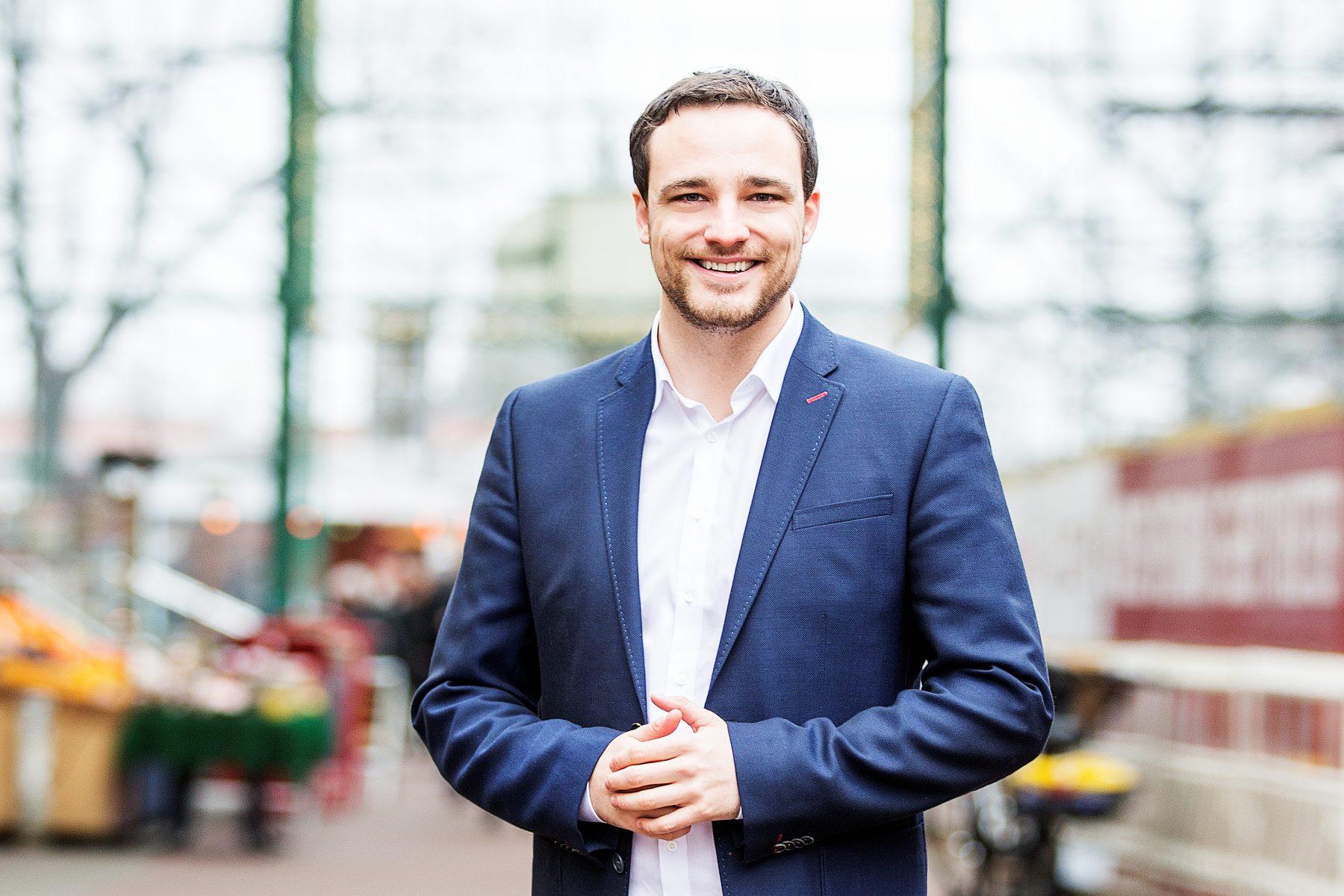 Philipp Heißner kandidiert für die CDU im Wahlkreis Stellingen - Eimsbüttel West. Foto: CDU Eimsbüttel