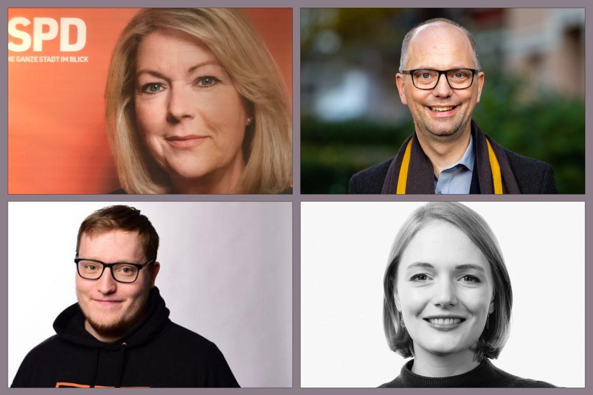 Eimsbüttels Kandidaten für die Bürgerschaftswahl 2020 im Wahlkreis Stellingen - Eimsbuettel West.