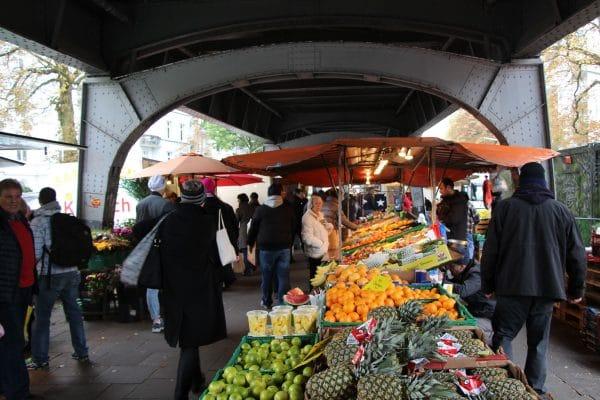 Blick auf den Isemarkt von Norden. Foto: Leo Papenberg