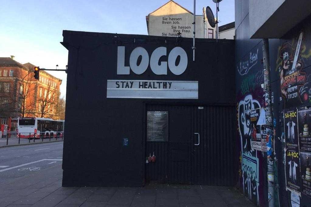 """Musikclubs wie das """"Logo"""" leiden unter der Krise."""