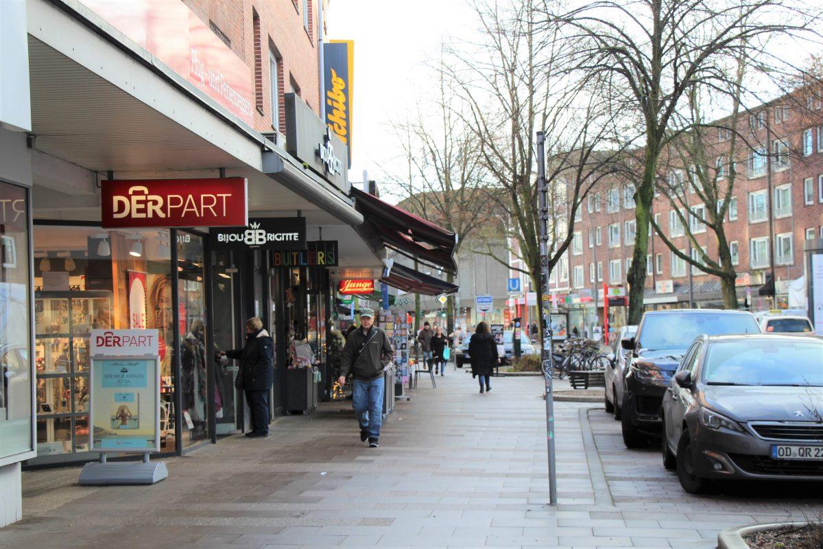 Die Einkaufsmeile in der Osterstraße. Foto: Alana Tongers
