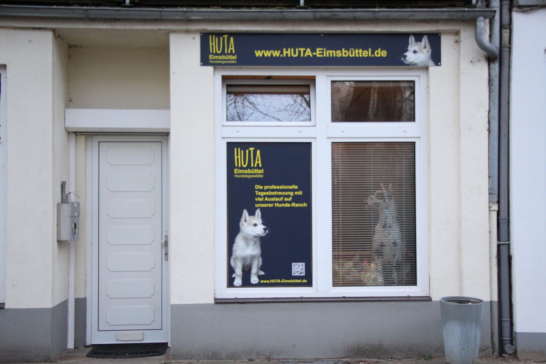 """Die """"HuTa Eimsbüttel"""" in der Telemannstraße. Foto: Sophia Kleiner"""