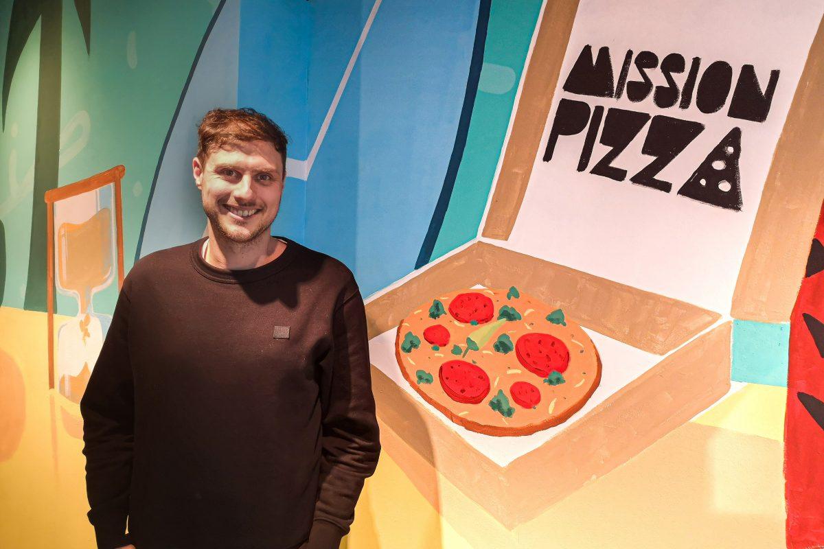 """""""Mission Pizza"""" eröffnet ein Restaurant. Foto: Sophia Kleiner"""