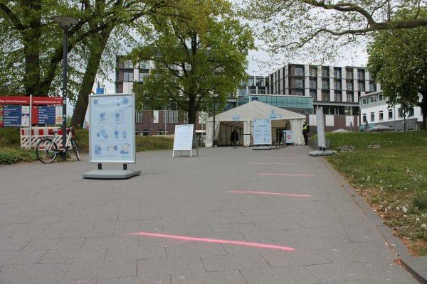 Universitätsklinikum Eppendorf. Foto: Marianne Bruhns