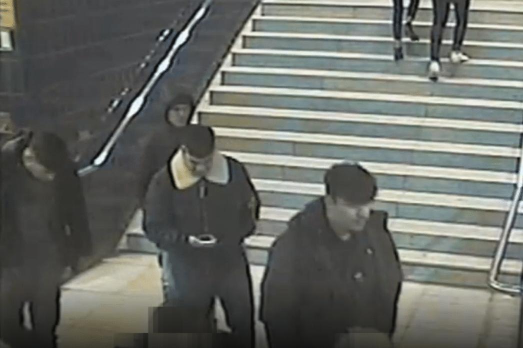 Die vier männlichen Täter waren zuvor am S-Bahnhof Reeperbahn in die Bahn gestiegen. Foto: Polizei Hamburg