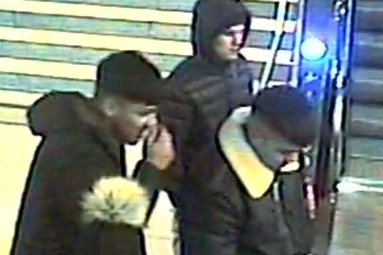 Am S-Bahnhof Reeperbahn stiegen die Täter in die Bahn ein. Foto: Polizei Hamburg