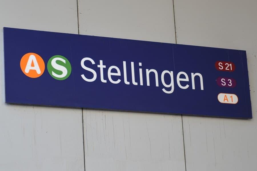 Auf dem Bahnsteig der S-Bahnstation Stellingen kam es zu dem Angriff. Foto: Eimsbütteler Nachrichten