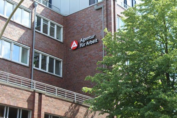 Die Agentur für Arbeit im Eppendorfer Weg
