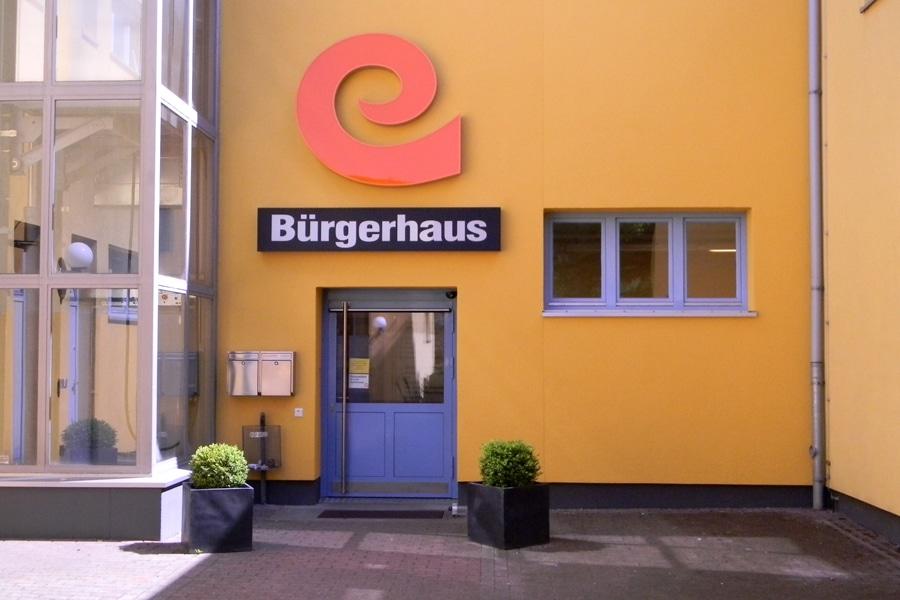 """Das """"e"""" vom Eingang lässt grüßen.Foto: Eidelstedter Bürgerhaus"""