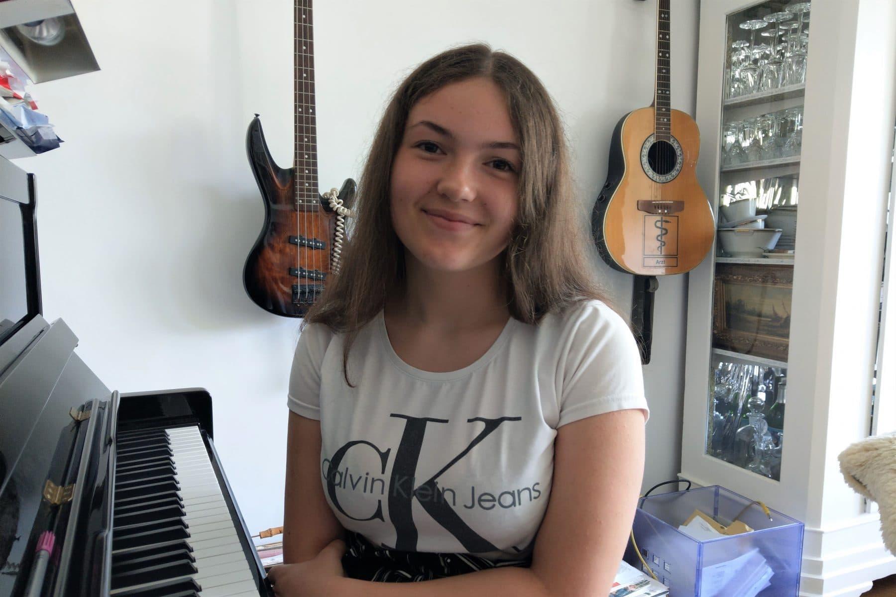 """Helen ist eine der Sängerinnen im """"Corona Blues"""". Foto: Privat"""