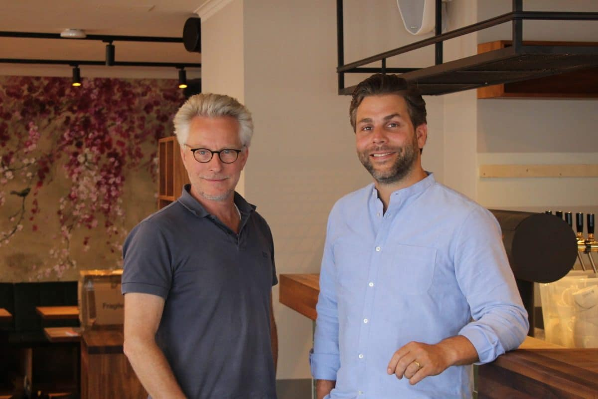 Christian Buchleiter und Hannes Schröder sind die Inhaber vom Herzstück. Foto: Johanna Grabert
