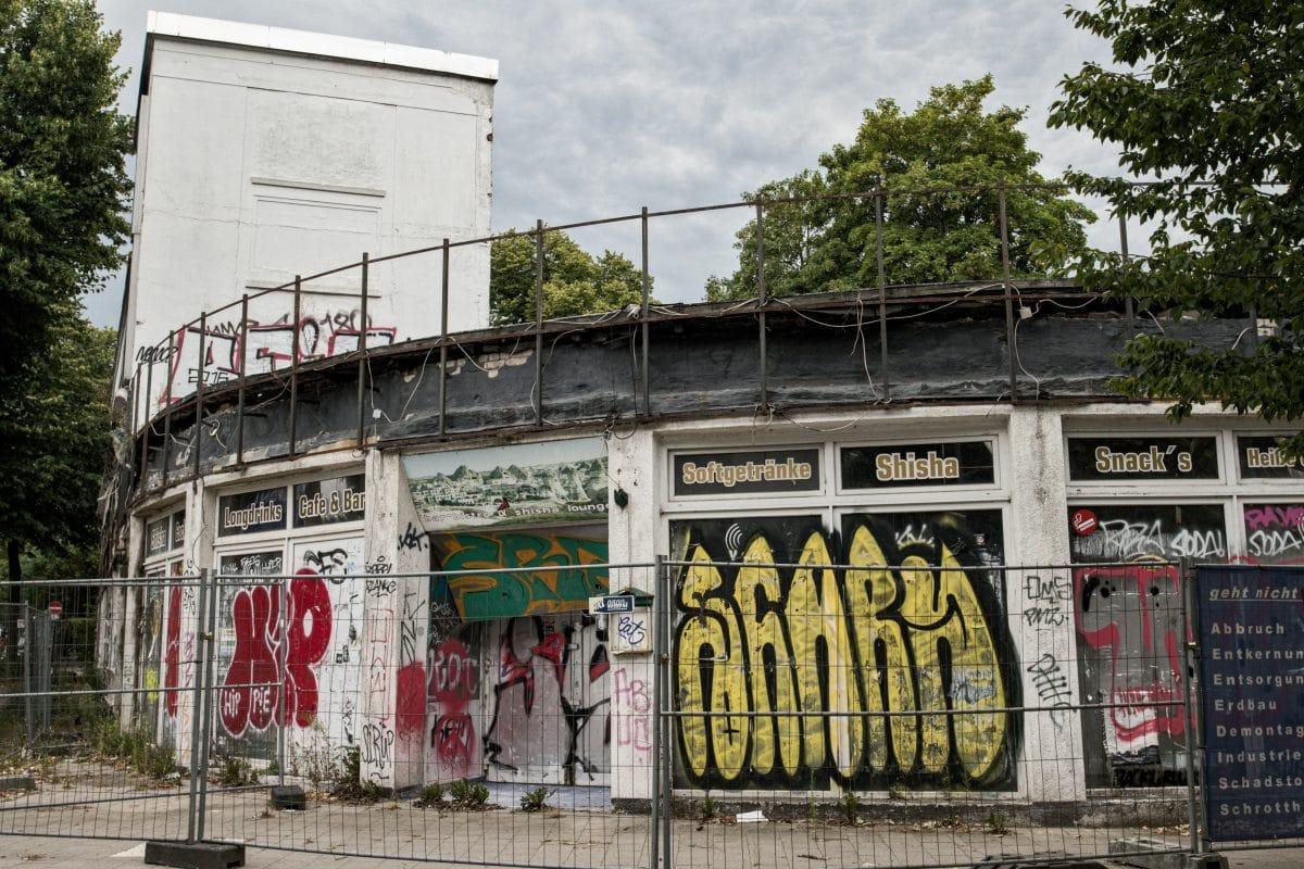Shisha-Haus in der Eimsbütteler Chaussee Ecke Nagels Allee. Foto: Tim Eckhardt