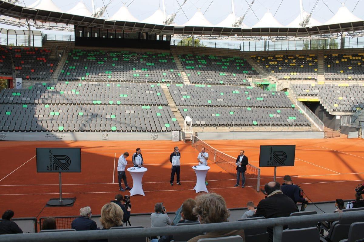 Blick in das modernisierte Tennisstadion am Rothenbaum. Foto: Marianne Bruhns