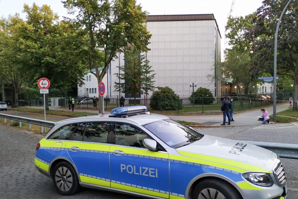 Angriff auf 26-jährigen Juden vor der Synagoge Hohe Weide. Foto: Eimsbütteler Nachrichten