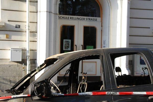Brand Auto Rellinger Straße