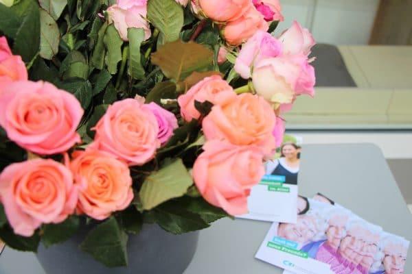 Rosen zum Tag der älteren Menschen