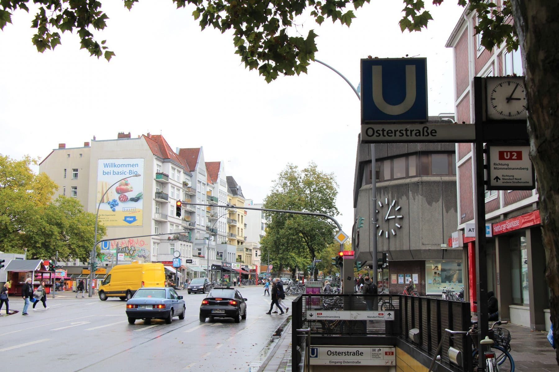 Hamburg Eimsbuettel Osterstrasse U-Bahn