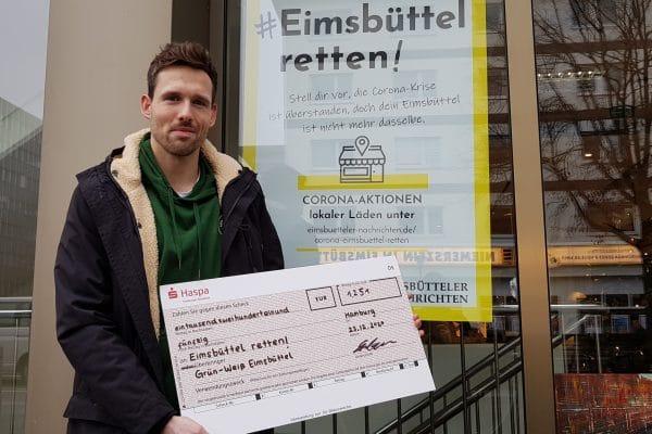 """Thorben Sindermann von """"Grün-Weiß Eimsbüttel""""."""
