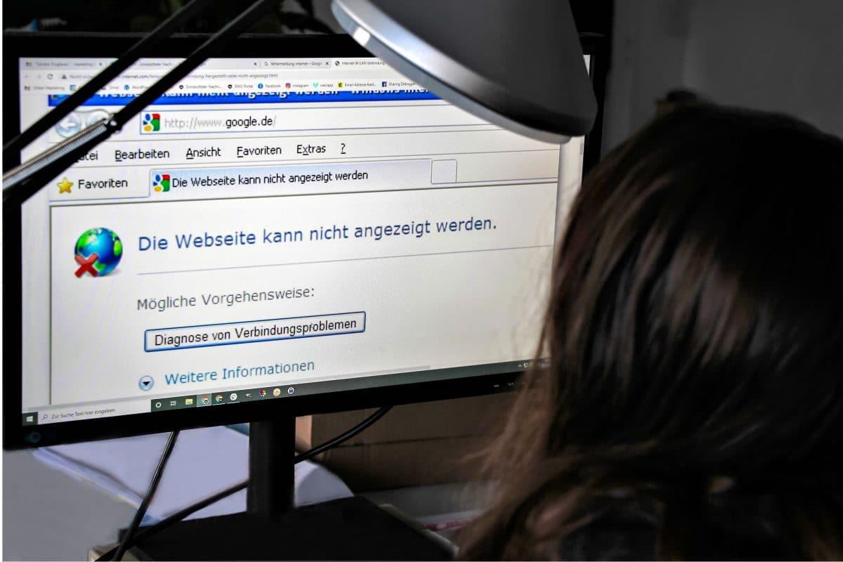 Technische Störungen setzen Arbeitnehmer im Homeoffice vor Herausforderungen. Foto: Julia Haas
