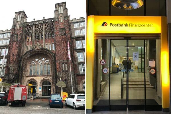 Postbank Schlüterstraße schließt. Foto: Anne Reis