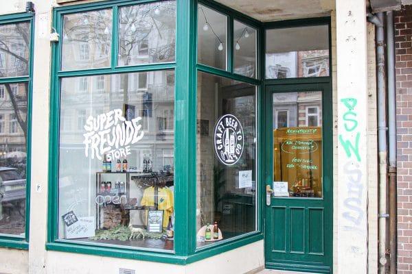 """Im Dezember haben die """"Superfreunde"""" einen Laden in der Lappenbergsallee eröffnet. Foto: Eimsbütteler Nachrichten"""