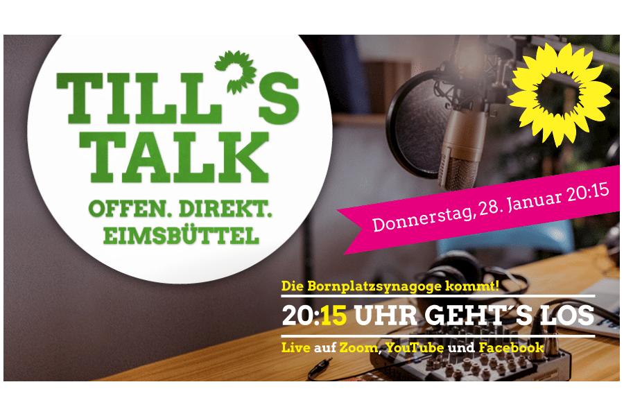 Till´s Talk - Die Bornplatzsynagoge kommt!