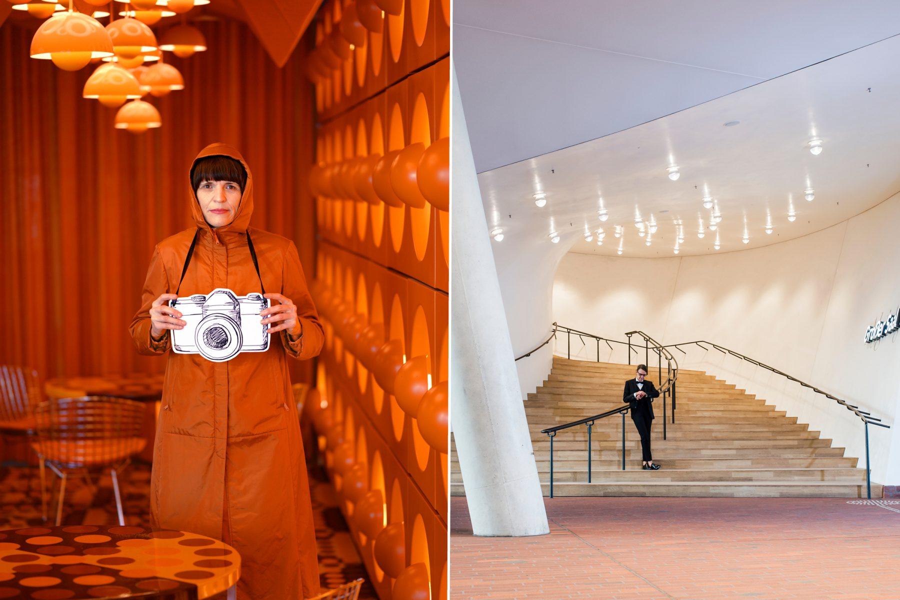 Fotografie-Ausstellung: Wir geben Hamburg Perspektive. Foto: Nicole Keller / Sibylle Zettler