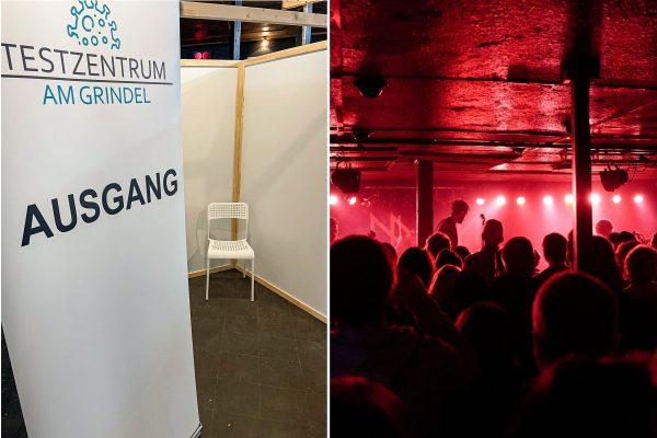 """Im """"Logo Hamburg"""" eröffnet das Testzentrum am Grindel. Foto: Martin Kultscher / Logo Hamburg"""