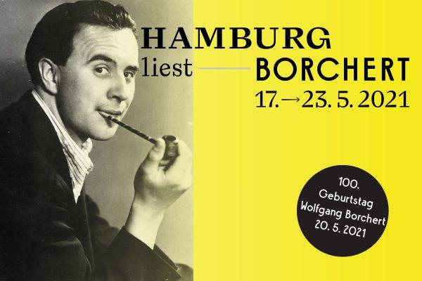 """Literatur-Festival zum 100. Geburtstag des Schriftstellers Wolfgang Borchert: """"Hamburg liest Borchert"""""""