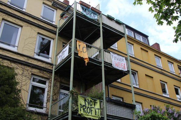 Das Amtsgericht setzt die Zwangsversteigerung des Kleinen Schäferkamps vorerst aus. Foto: Lukas Görlitz