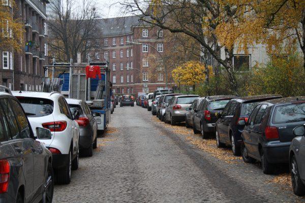 Bewohnerparkzonen Parken Eimsbüttel Kaifu Autos