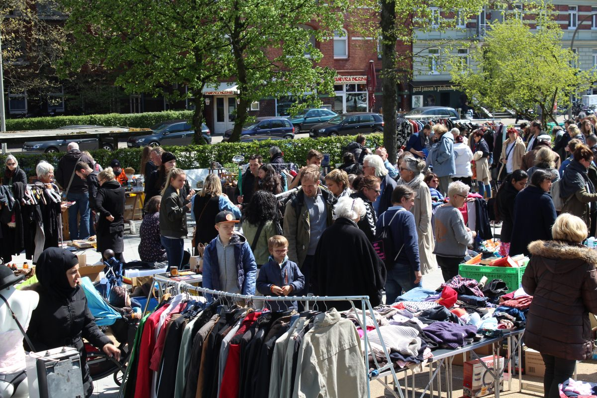 Flohmarkt Else Rauch Platz Lutterothstraße