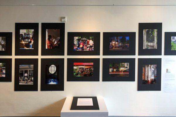 """Die Ausstellung """"Eimsbüttel - Bilder aus einem Hamburger Stadtteil"""" ist in der Haspa Osterstraße zu sehen."""