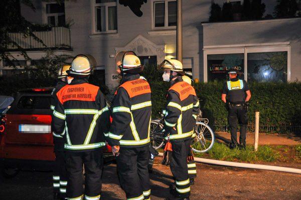 Das Feuer hat die Kita in der Lutterothstraße stark beschädigt.