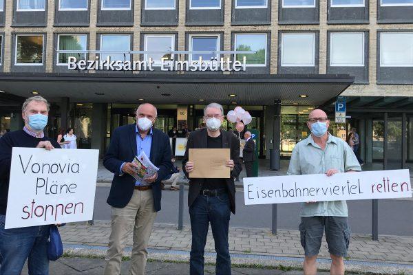 Eidelstedt_Bürgerbegehren_Bezirksamt Eimsbuette_Vonovia_Hamburg