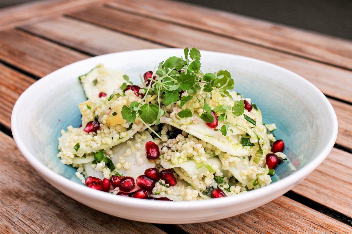 Hirsesalate von Florian Oehler aus dem Heemann. Foto: Marianne Bruhns