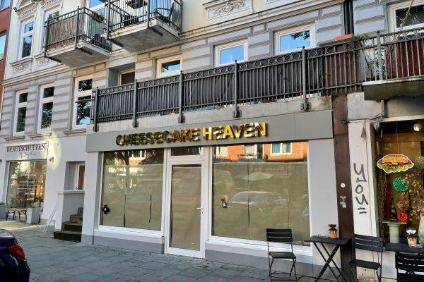 "Am Freitag eröffnet der ""Cheesecake Heaven"" im Hellkamp 18. Foto: Julia Haas"