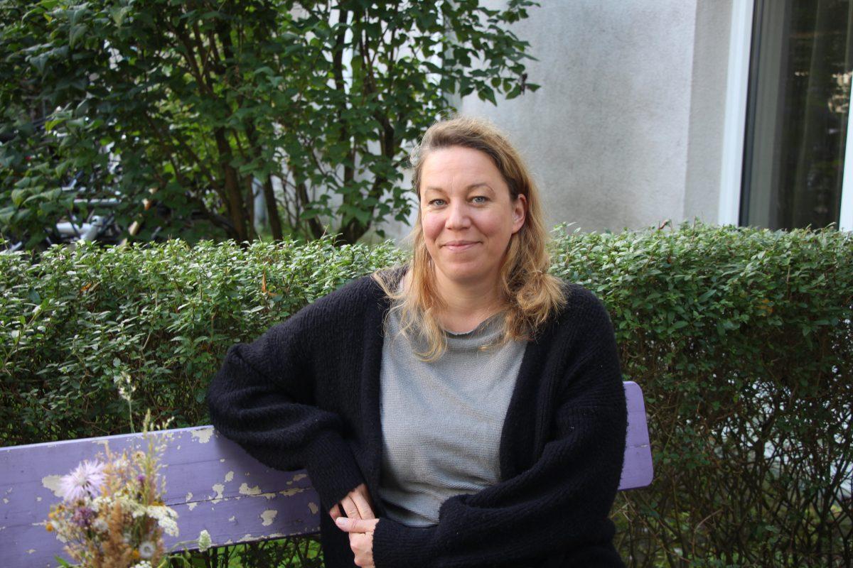 """Constanze Lux von """"La Douce"""" möchte die Stimmen von Kleinunternehmen aus Eimsbüttel in einer Interessensvertetung bündeln. Foto: Julia Haas"""