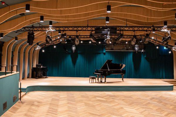 Neuer Konzertsaal in Eimsbüttel: Die JazzHall im Harvestehuder Weg