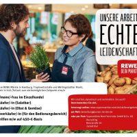 Stellenangebote bei den REWE Märkten in Hamburg