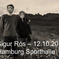 4 Tickets für Sigur Rós in Hamburg - 12.10.2017 - auch einzeln jeweils €44,-